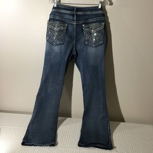 Apt 9 14 Bootcut Jeans with lots of BLING